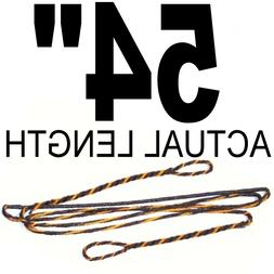 """54"""" ACTUAL INCH LENGTH FLEMISH Recurve Bow String BOWSTRING"""