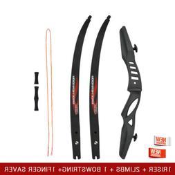 """60"""" 20Lbs New Recurve Bow ILF NIKA Takedown Archery Bows For"""