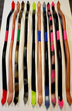 Mounted Archery Recurve Bows  51 in. CUSTOM Bows 25-35 lb FR