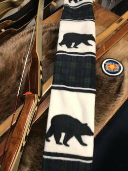 Vintage Archery Recurve BOW SOCK, Running Bear, Longer Bows